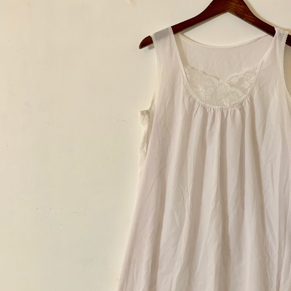 Vintage Other - Vintage 1950s Cotton Nightie Slip Dress M/L